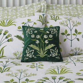 Lila Green Cushion