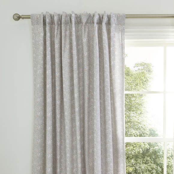 Jessa Pink Blackout Tab Top Curtains  undefined