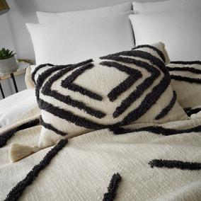 Elias Natural 100% Cotton Cushion