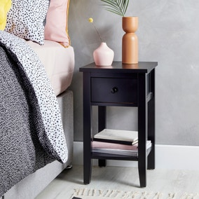 Lynton Black Compact Bedside