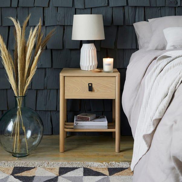 Henry Oak Bedside Table