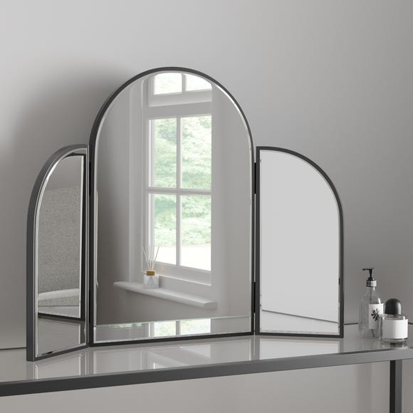 Apartment Dressing Table Mirror Black Black undefined