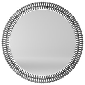Glam Gem Edge 76cm Wall Mirror Smoked
