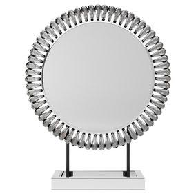 Glam Gem Edge Dressing Table Mirror