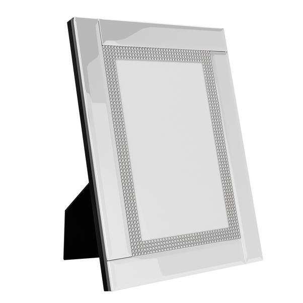 Diamonte 6x4 Photo Frame Silver