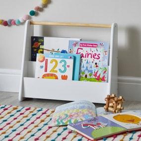 Kids Mini White Bookcase