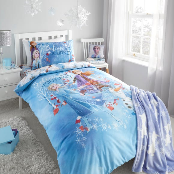 Frozen 2 Reversible Duvet Cover and Pillowcase Set  undefined