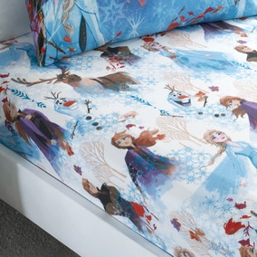 Frozen 2 Multicoloured Fitted Sheet