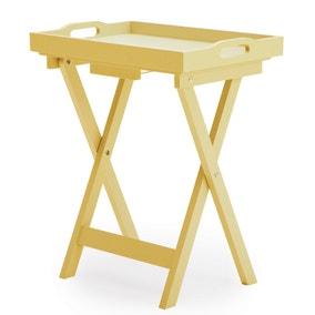 Edgar Butlers Tray Table - Lemon