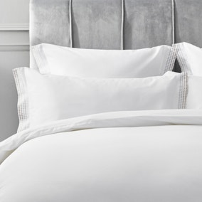 Dorma Purity Chesten 300 Thread Count Cotton Sateen Continental Pillowcase