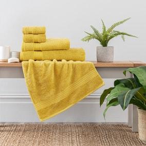 Ochre Egyptian Cotton Towel