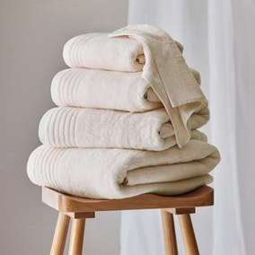 Dorma Sumptuously Soft Unbleached Undyed Towel
