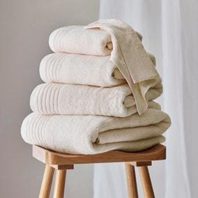 Dorma Tencel Sumptuously Soft Natural Towel