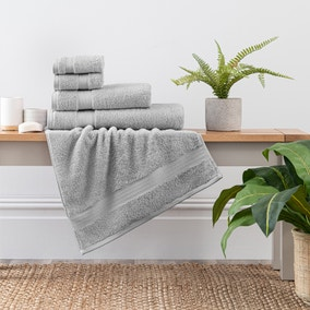Silver Egyptian Cotton Towel