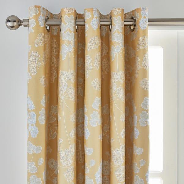 Dorma Daylesford Cotton Sateen Blackout Eyelet Curtains  undefined
