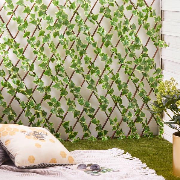 Artificial Foliage Trellis  Dark Green