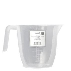 Dunelm Plastic 2L Measuring Jug