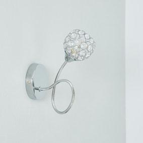 Portia Acrylic Beaded Wall Light