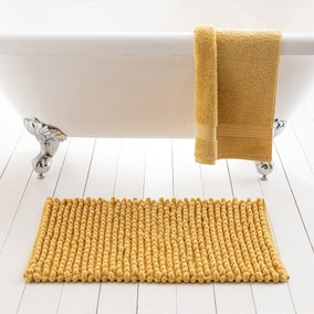 Pebble Ochre Bath Mat