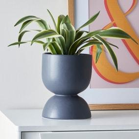 Ceramic Planter Charcoal 20cm