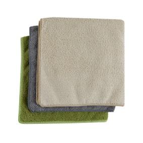 Antibacterial 3 Pack Microfibre Large Cloths