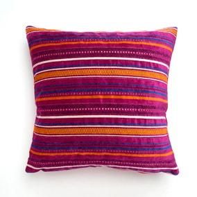Acton Stripe Fuschia Cushion Cover