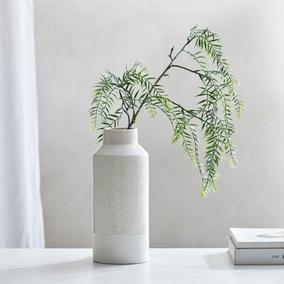 Dorma Purity Ceramic Vase 30cm Cream