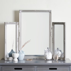 Swept Dressing Table Mirror