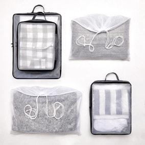 5 Piece Grey Cube Packing Set