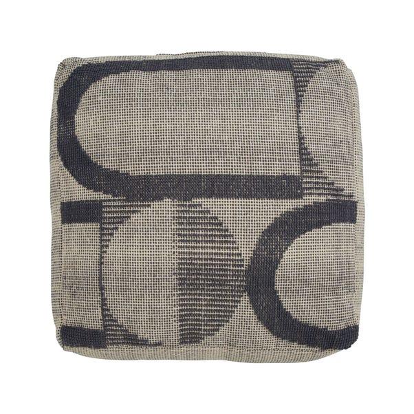 Elements Axel Floor Cushion Grey undefined