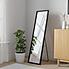 Essentials Freestanding Mirror Matt Black undefined