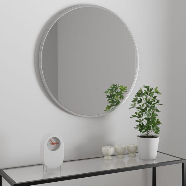 Apartment 80cm Mirror Silver