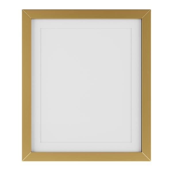 Essentials Box Frame 12x10 Gold Gold