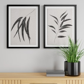 Set of 2 Framed Leaf Prints
