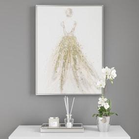 Embellished Dress Wall Art