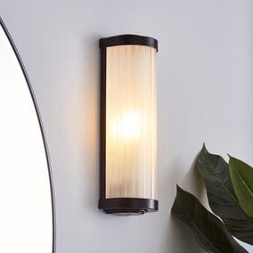 Ripon Bathroom Wall Light Matt Black