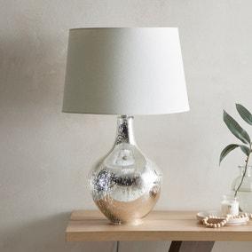 Dorma Purity Usha Mercury Glass Table Lamp