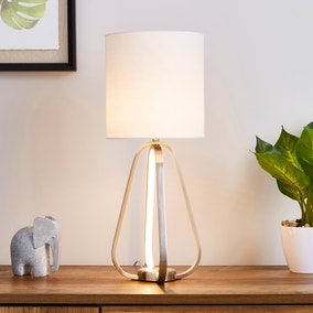 Robyn Dual Lit Integrated LED Table Lamp White