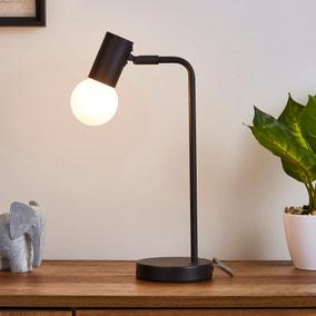 Bradford Desk Lamp Matt Black