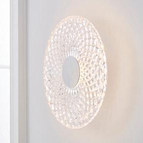 Cora Glass Wall Light