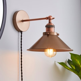 Logan Plug-in Wall Light
