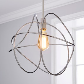 Marlow Easy Fit Pendant Chrome