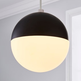 Faye Frosted Globe Easy Fit Pendant