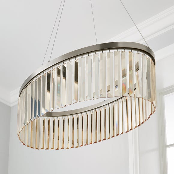 Camille Integrated LED Ceiling Fitting Champagne