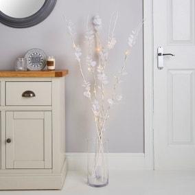 White Eucalyptus Twig Light