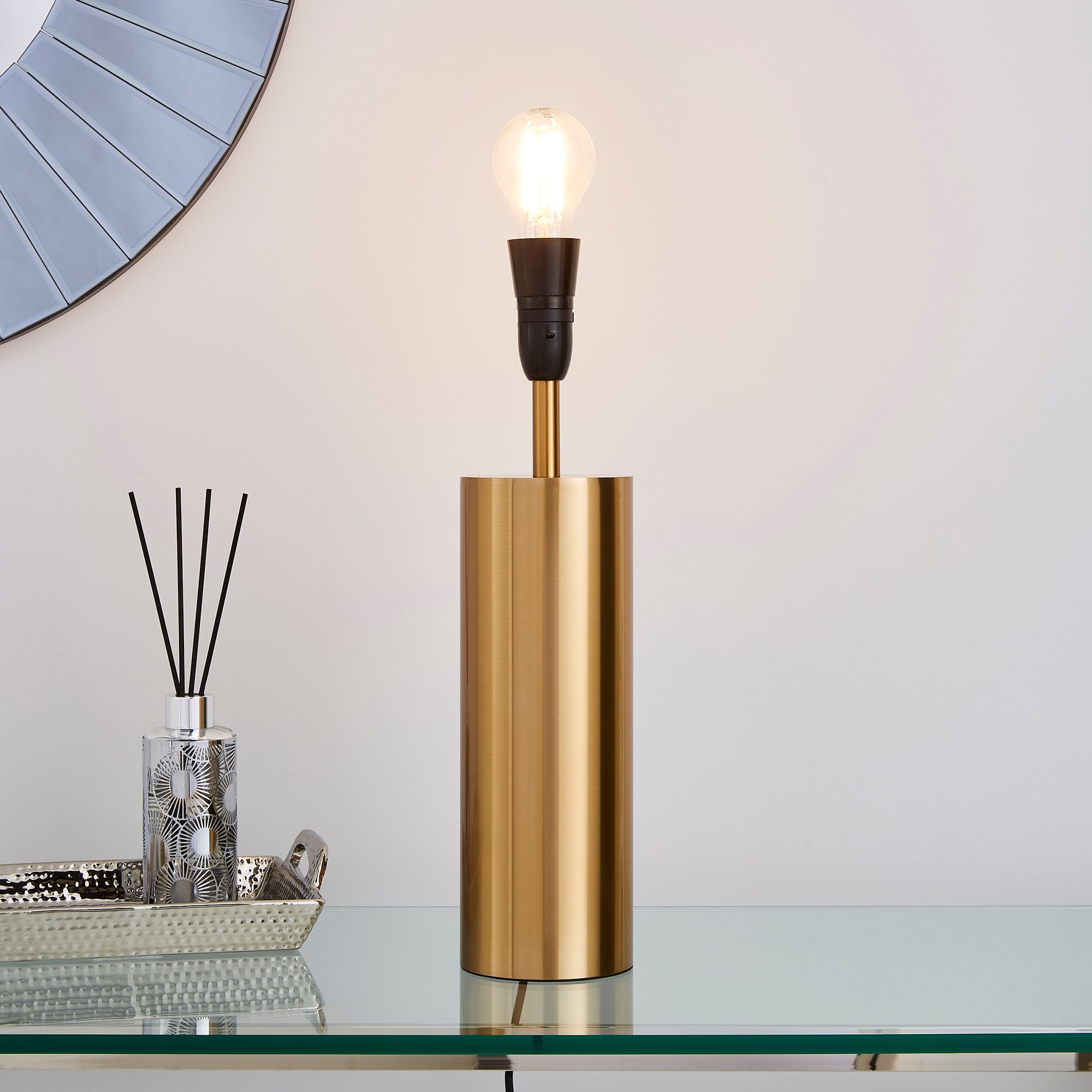 Nesa Touch Table Lamp Brushed Gold