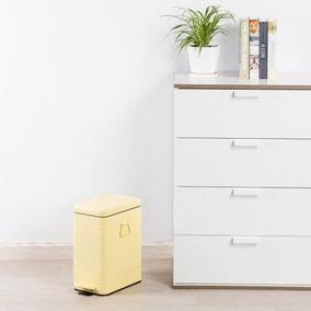 Vintage 8L Lemon Recycling Bin