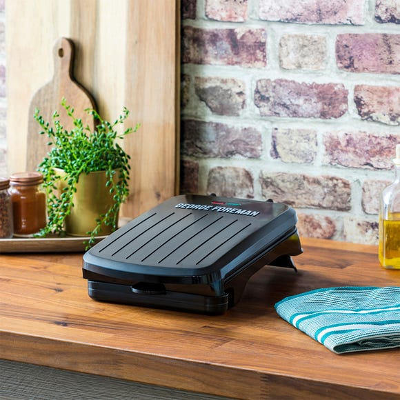 George Foreman Small Fit Grill Black