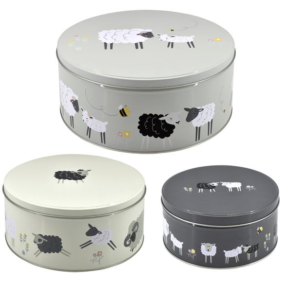 Penny the Sheep Cake Tins Set of 3 MultiColoured