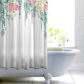 Tropique Green Shower Curtain